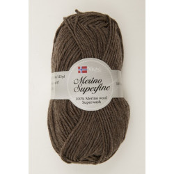 Viking Merino Superfine Brun 608