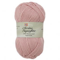 Viking Merino Superfine Puderrosa 658
