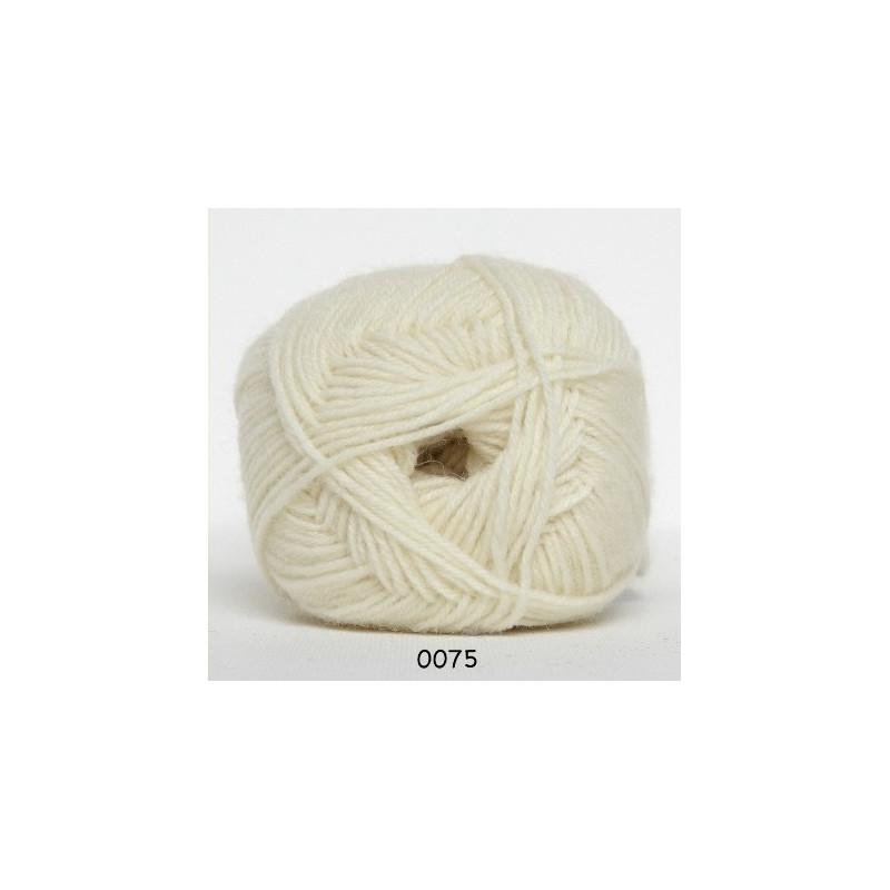 Sock 4 Naturvit 0075