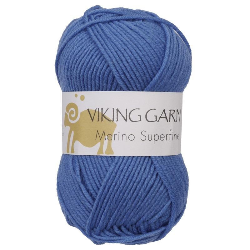 Viking Merino Superfine Kungsblå 624