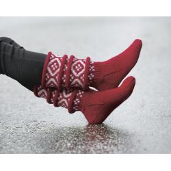 Komplett sats Team Ingebrigtsen sokken st 30-39 Röd