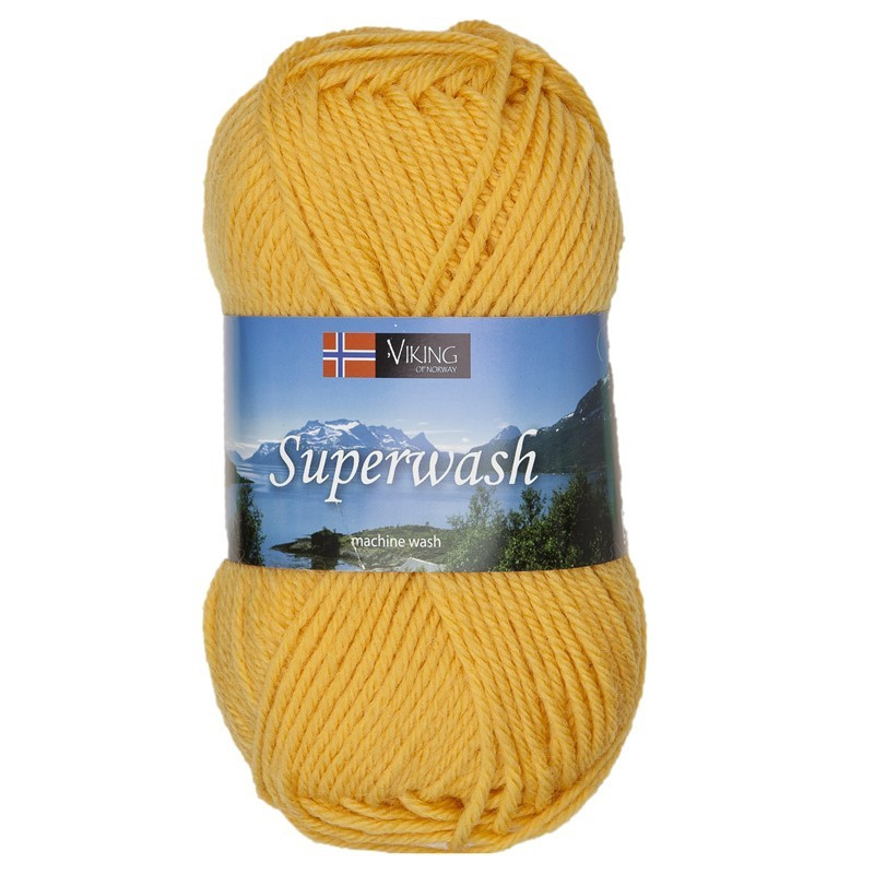 Viking Superwash Gul 145