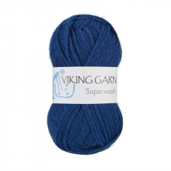 Viking Superwash Koboltblå 125