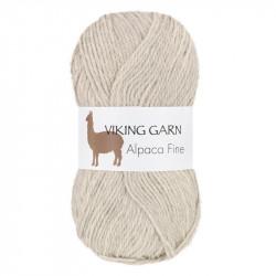 Viking Alpaca Fine 612 Silvergrå
