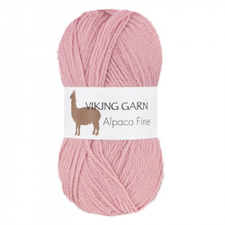Viking Alpaca Fine 664 Ljusrosa
