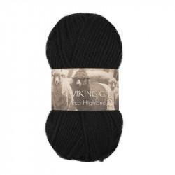 Eco Highland Wool Svart 203
