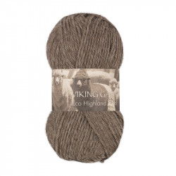 Eco Highland Wool Brun 208