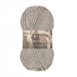 Eco Highland Wool Ljusgrå 213
