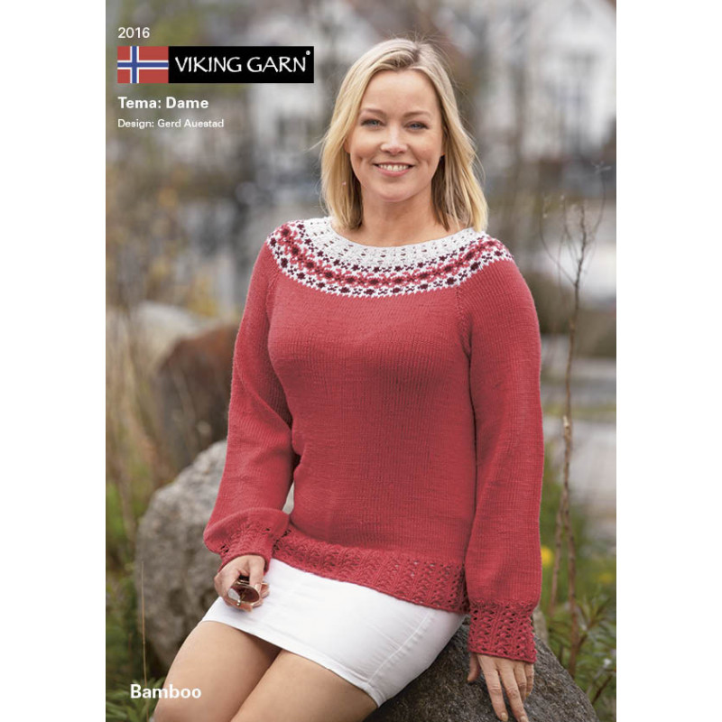 Mönsterkatalog 2016 Viking Garn