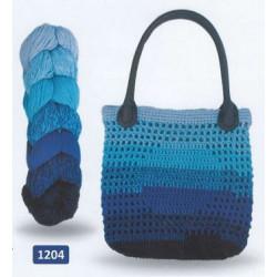 Regenbogen Bag, recycelt  1202 Svart/Grå