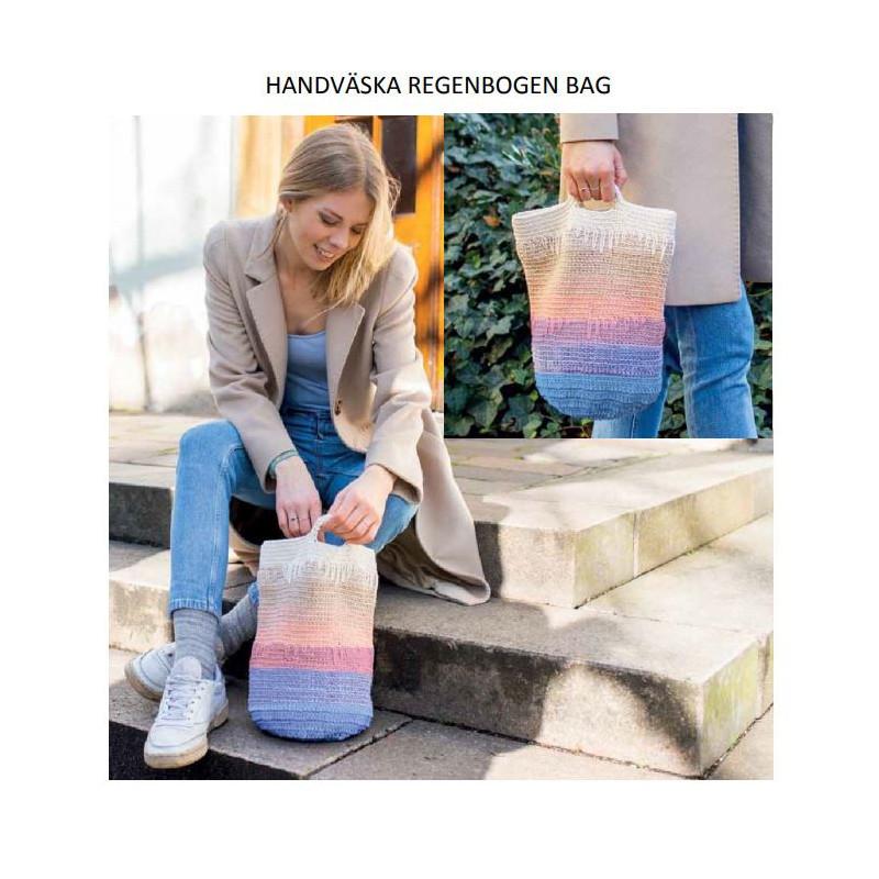 Komplett sats Handväska Regenbogen Bag