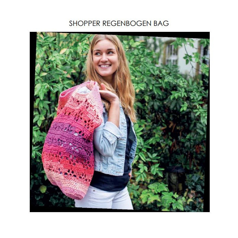 Komplett sats Shopper Regenbogen Bag