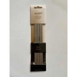 Strumpstickar NDLWRX metall 20 cm