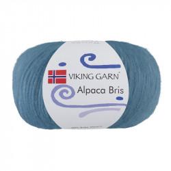 Alpaca Bris 326 Ljus Jeansblå