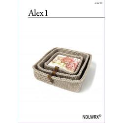Mönster Korg-set Alex 1