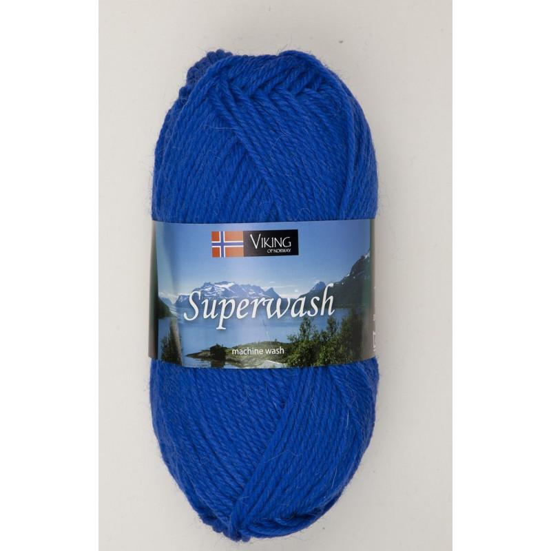 Viking Superwash Klarblå 124