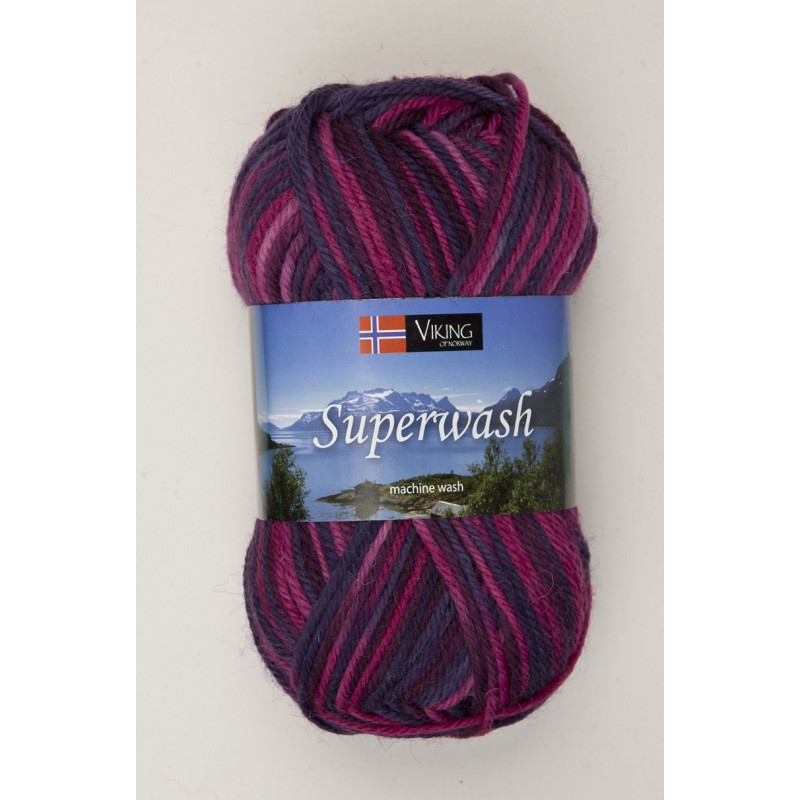 Viking Superwash Rosamelerad 166