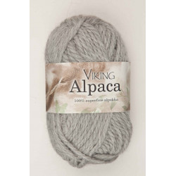 Viking Alpaca Superfine Ljusgrå 213