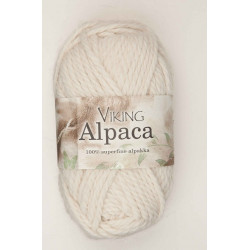 Viking Alpaca Superfine Naturvit 202
