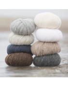 Alpaca Bris från viking garn är ett mycket mjukt och skönt garn.